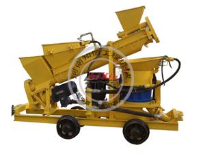 矿用混凝土喷射机 JPC5I-L