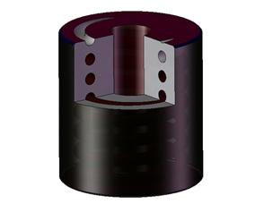 混凝土喷浆机配件 橡胶复合弹簧FTH
