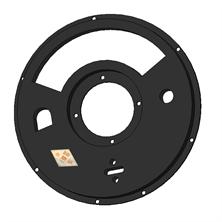 喷浆机配件 上橡胶密封板CBS-5/7